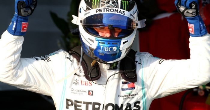 Valtteri Bottas believes a vital tow from Lando Norris' McLaren helped him claim pole for the Azerbaijan Grand Prix.