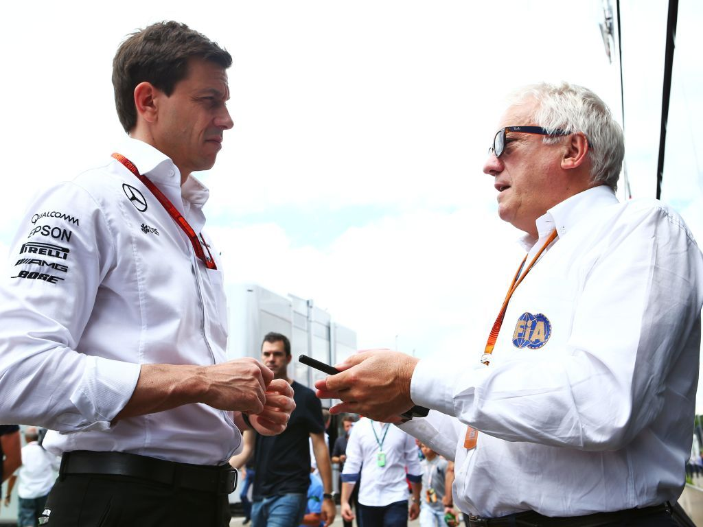 """Toto Wolff says replacing Charlie Whiting is """"impossible""""."""