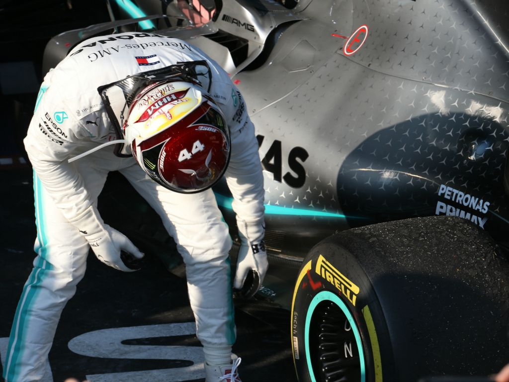 Mercedes believe the kerbs caused floor damage to Hamilton's car in Melbourne.