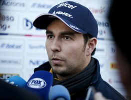 """Sergio Perez says he is """"more optimistic"""" over the future of the Mexican GP."""