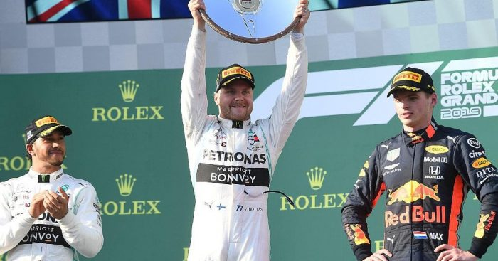 Valtteri Bottas' fastest lap in Australia, set on the penultimate lap of the race shows the progress of Pirelli's tyres says their Formula 1 boss.