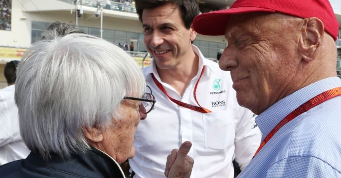 'Toto Wolff and Lawrence Stroll held breakaway talks with Bernie'