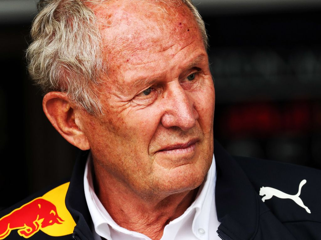 Helmut Marko believes Nikita Mazepin setting the fastest time for Mercedes in the second day of testing proves the W10's dominance.