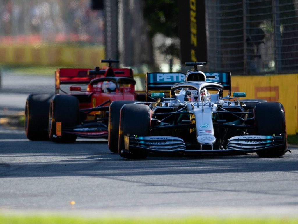 Lewis Hamilton: Didn't hold Sebastian Vettel up