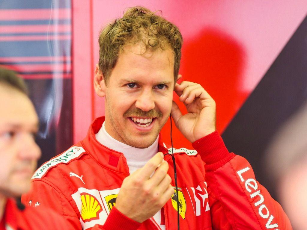 Sebastian Vettel: Quickest for Ferrari in FP2 in Bahrain