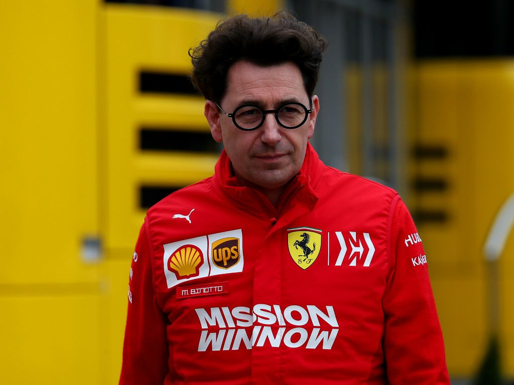 Mattia Binotto claims Ferrari and Mercedes were running different engine modes after the Scuderia dominated Friday's running.