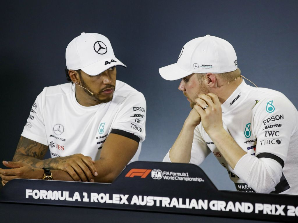 Lewis Hamilton: Thinks Bottas is the same