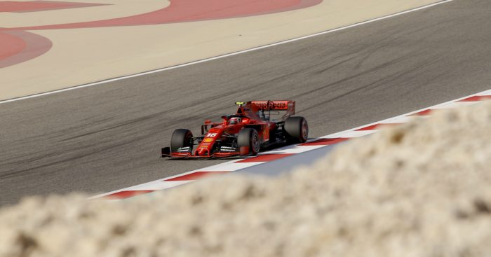Charles Leclerc: Quickest in FP3 in Bahrain