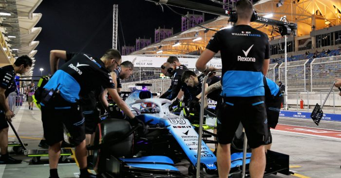 "George Russell says Williams must develop at ""double or triple the rate"" of their rivals."