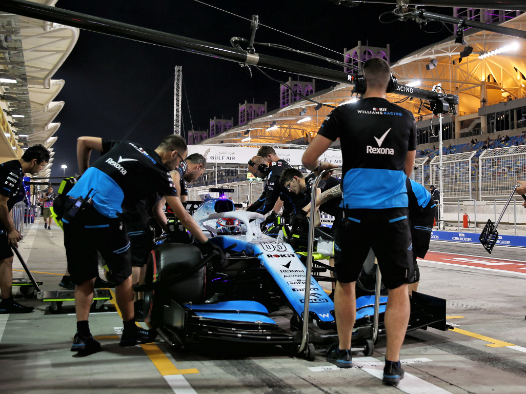 """George Russell says Williams must develop at """"double or triple the rate"""" of their rivals."""