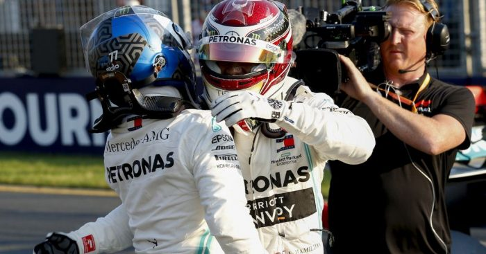 'Bottas is trying to get under Hamilton's skin'