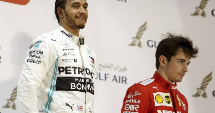 Lewis Hamilton: Sympathises with Charles Leclerc