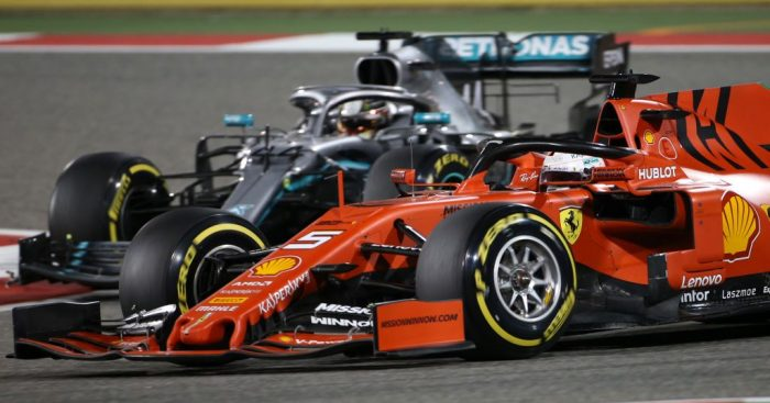 Sebastian Vettel denies cracking under pressure in Bahrain