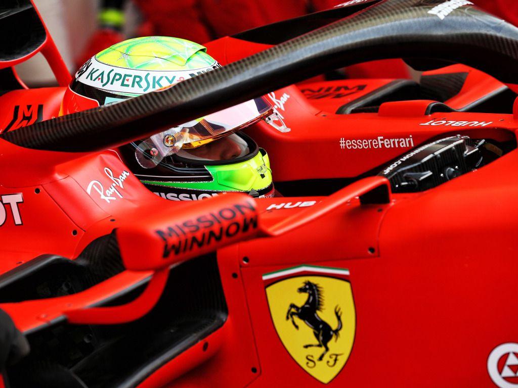 Romain Grosjean sets the pace as Mick Schumacher debuts