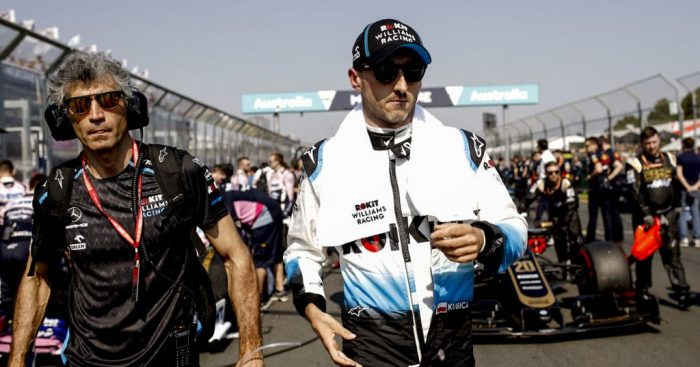 "Robert Kubica says he is just a ""passenger"" until the FW42 improves."