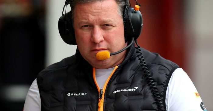 Zak Brown doesn't believe that McLaren can be a regular threat to Red Bull.