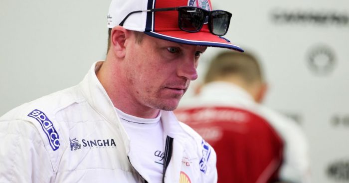 Kimi Raikkonen found it easier to follow Lando Norris in Bahrain than he would have done in previous years.