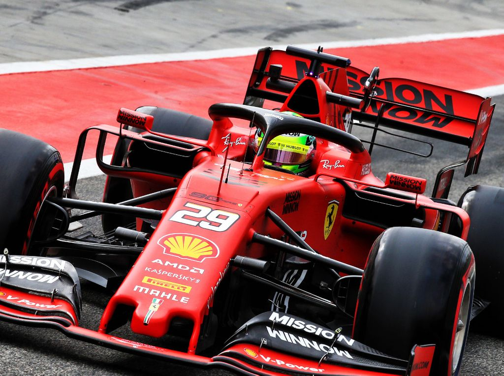 Mick Schumacher set for German GP FP1 run - report