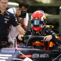 Max Verstappen: Happy with Honda