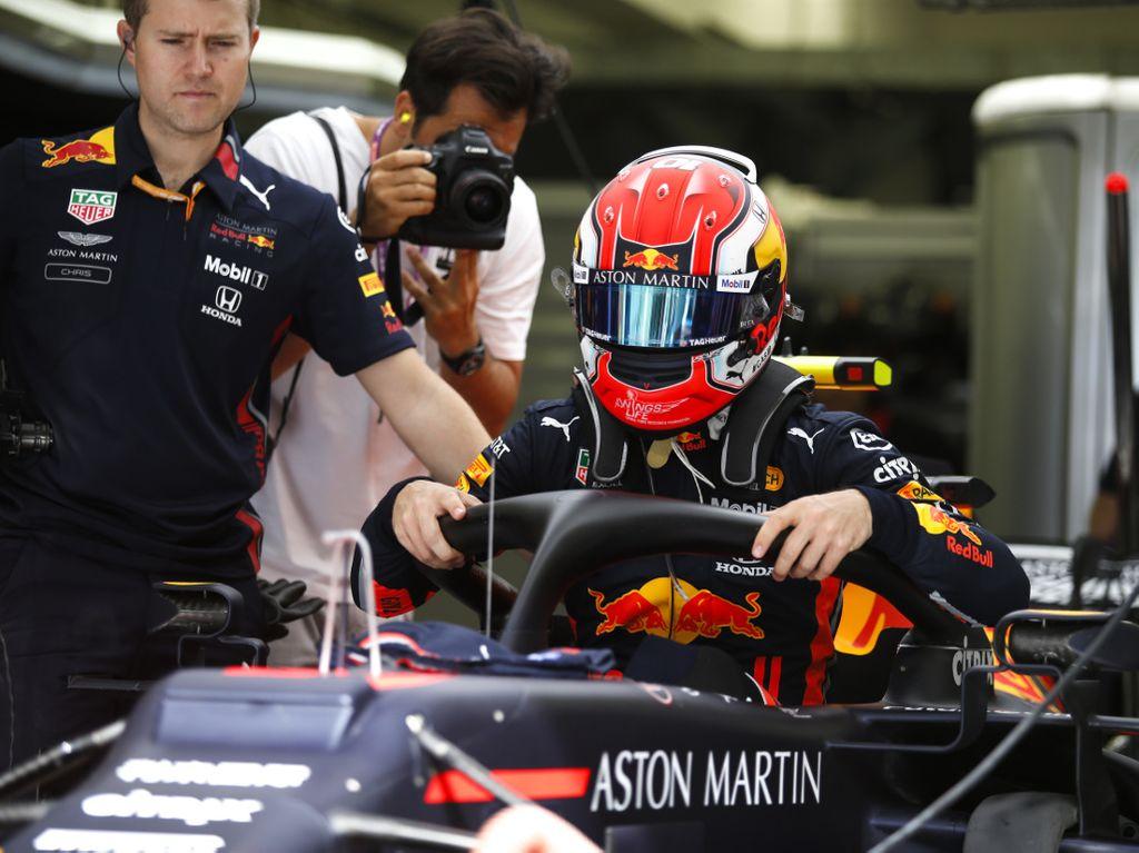 Max Verstappen: Happy with Honda