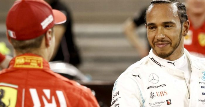 Sebastian Vettel: Has mental blocks against Lewis Hamilton