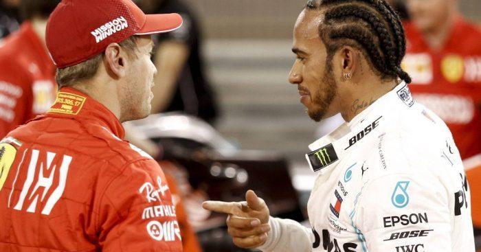 Lewis Hamilton: Impressed with Ferrari speed