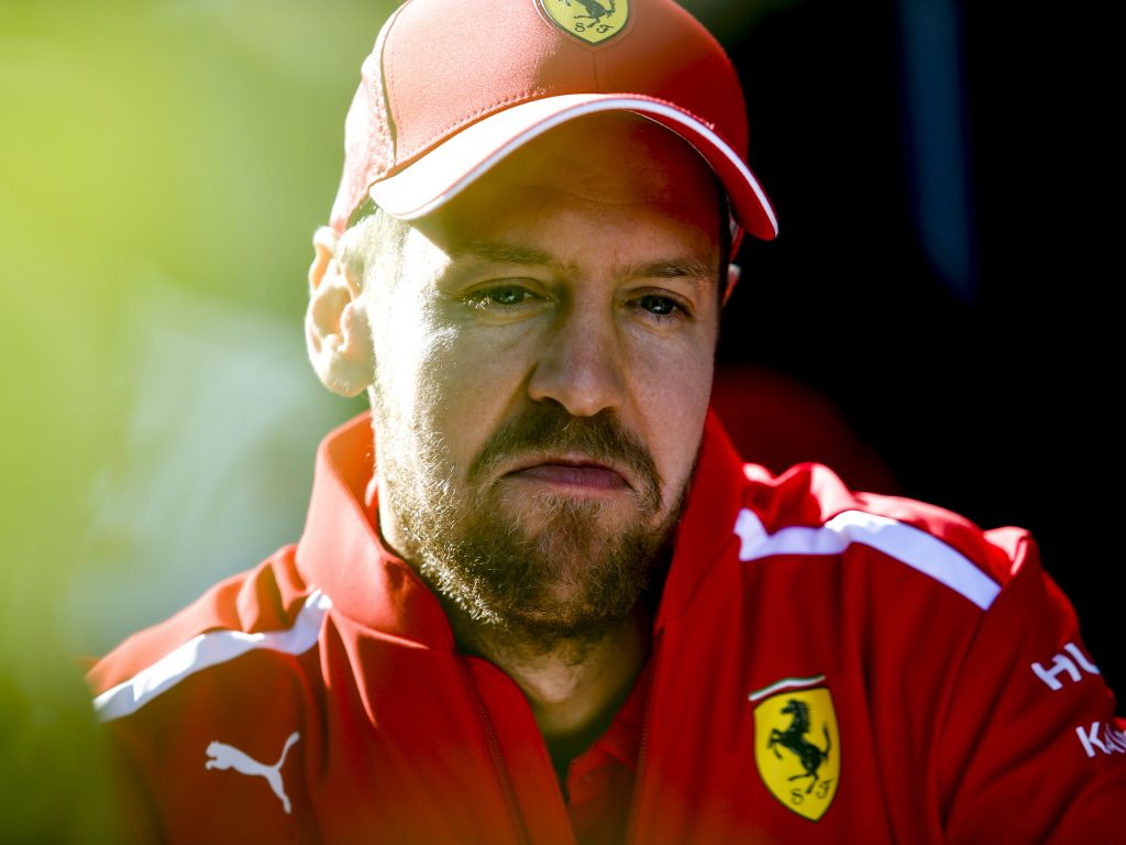 """Sebastian Vettel joked that Lewis Hamilton may be the """"only one that doesn't lack a short-term memory""""."""