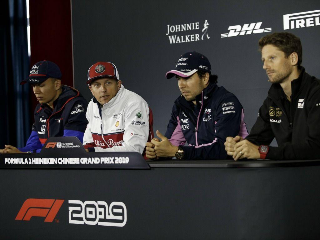 FIA press conference: China