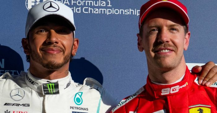 Lewis Hamilton denies having a mental edge over Sebastian Vettel