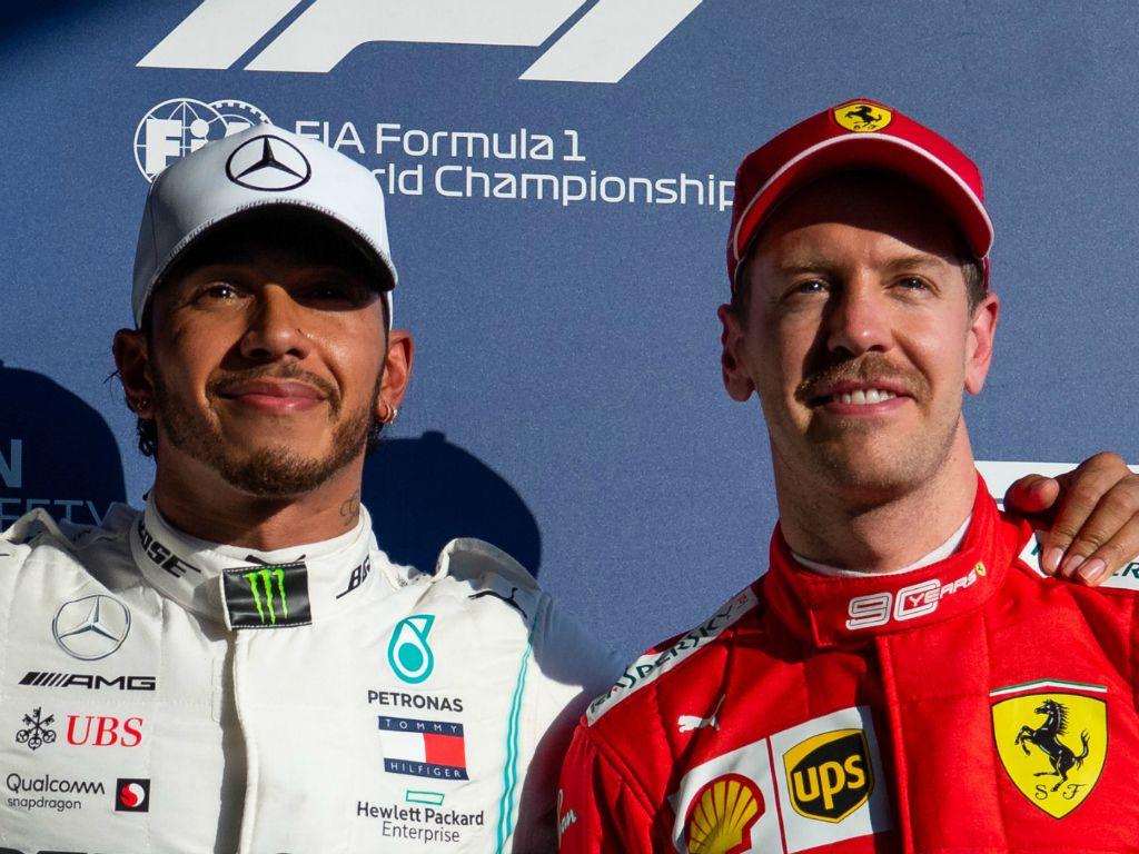 Lewis Hamilton denies having a mental edge over Sebastian Vettel