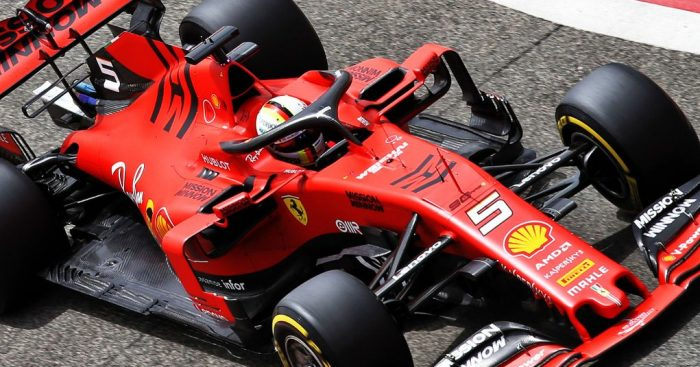 Ferrari fit new Control Electronics to both cars.