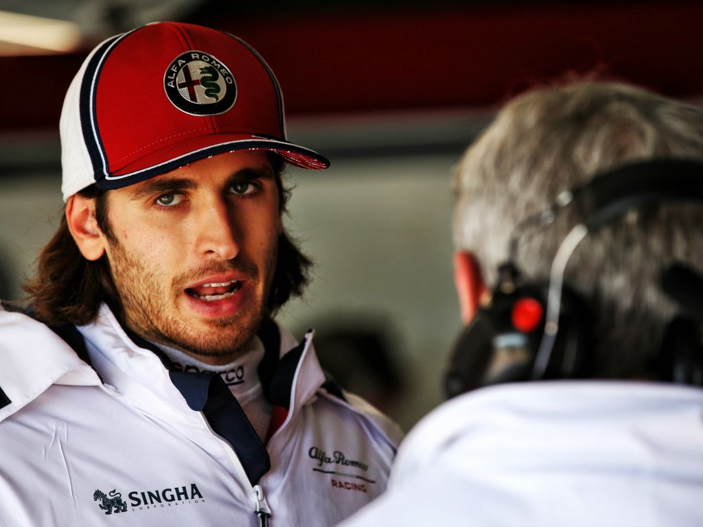 Alfa Romeo incorrectly installed Giovinazzi's engine