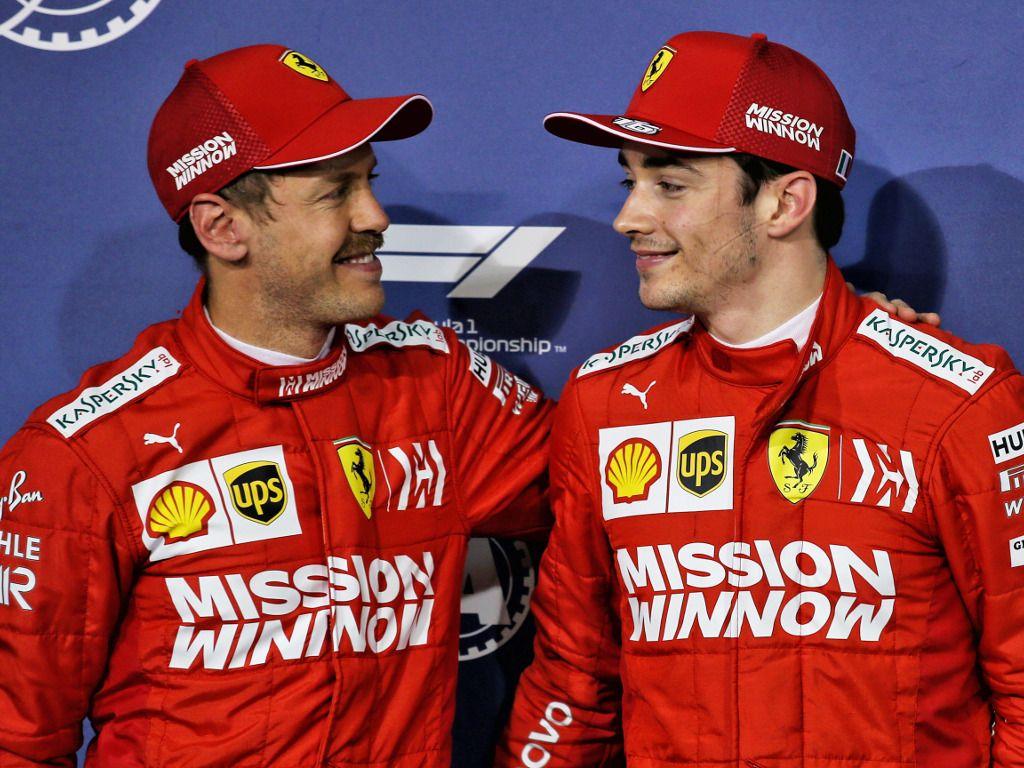 Charles Leclerc eager to change Ferrari's pecking order
