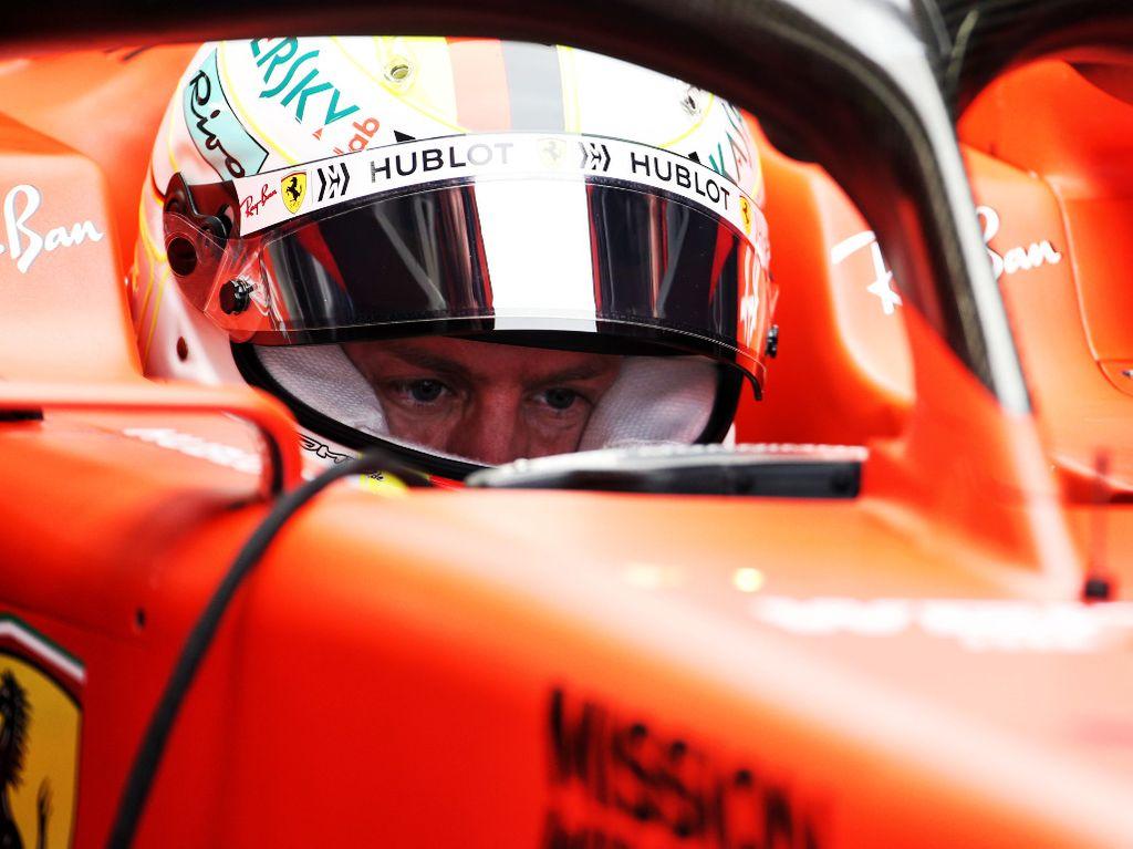Sebastian Vettel: Mercedes bloody quick in corners