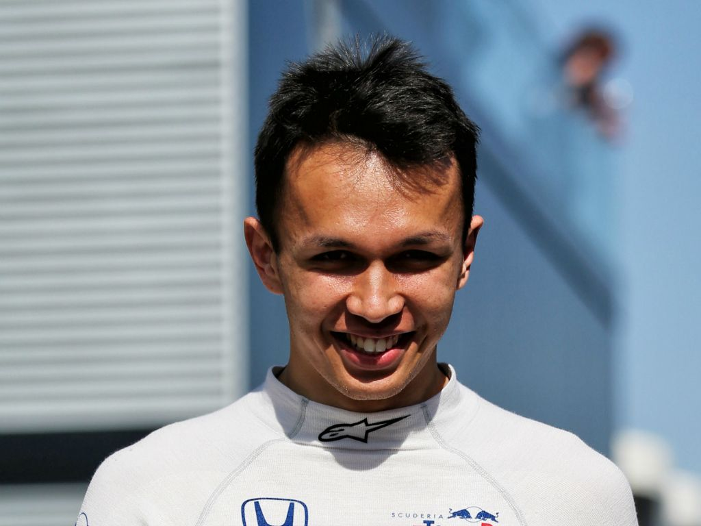 Alexander Albon praised by F2 rival George Russell for his performances under the Red Bull programme.
