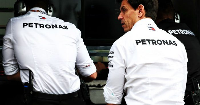 "Toto Wolff has defended Ferrari's use of team orders in China, but says they risk ""opening a can of worms""."