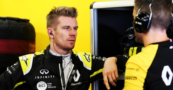 Renault appear to have confirmed that Nico Hulkenberg's new dog is not their mascot.