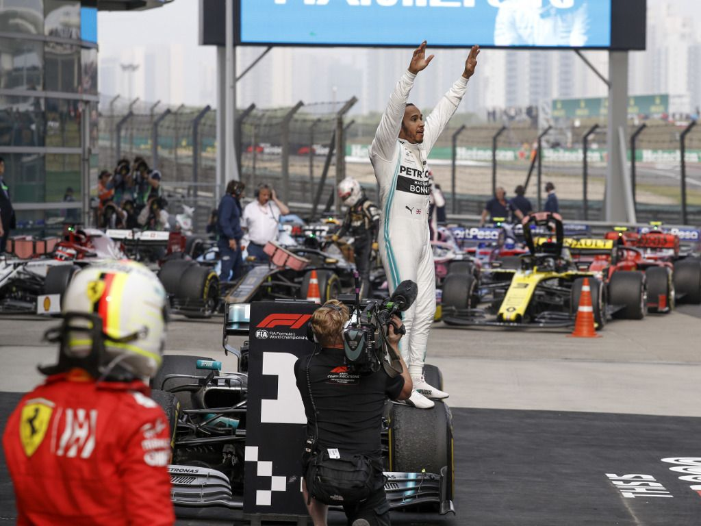 Conclusions from the Chinese Grand Prix
