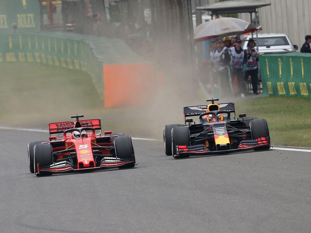 Max Verstappen says Sebastian Vettel's defence was 'alright'
