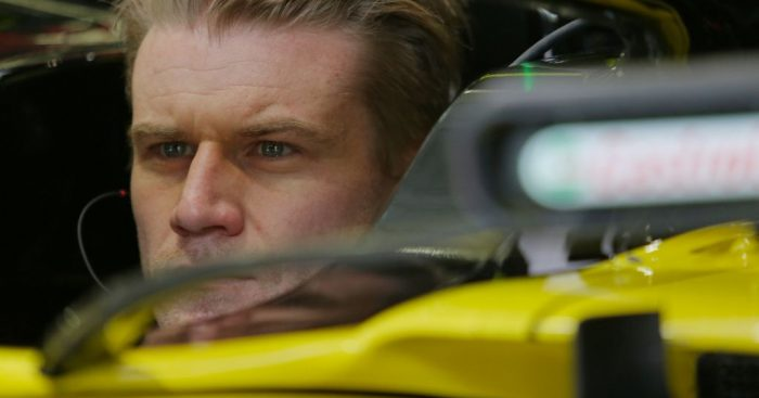 Renault believe a software glitch caused Nico Hulkenberg's MGU-K to shut down in China.