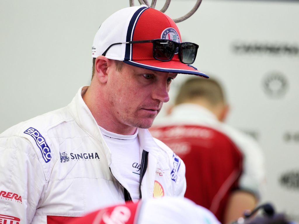 Alfa Romeo feared for KImi Raikkonen in the Chinese GP who was running the old-spec Ferrari ECU.