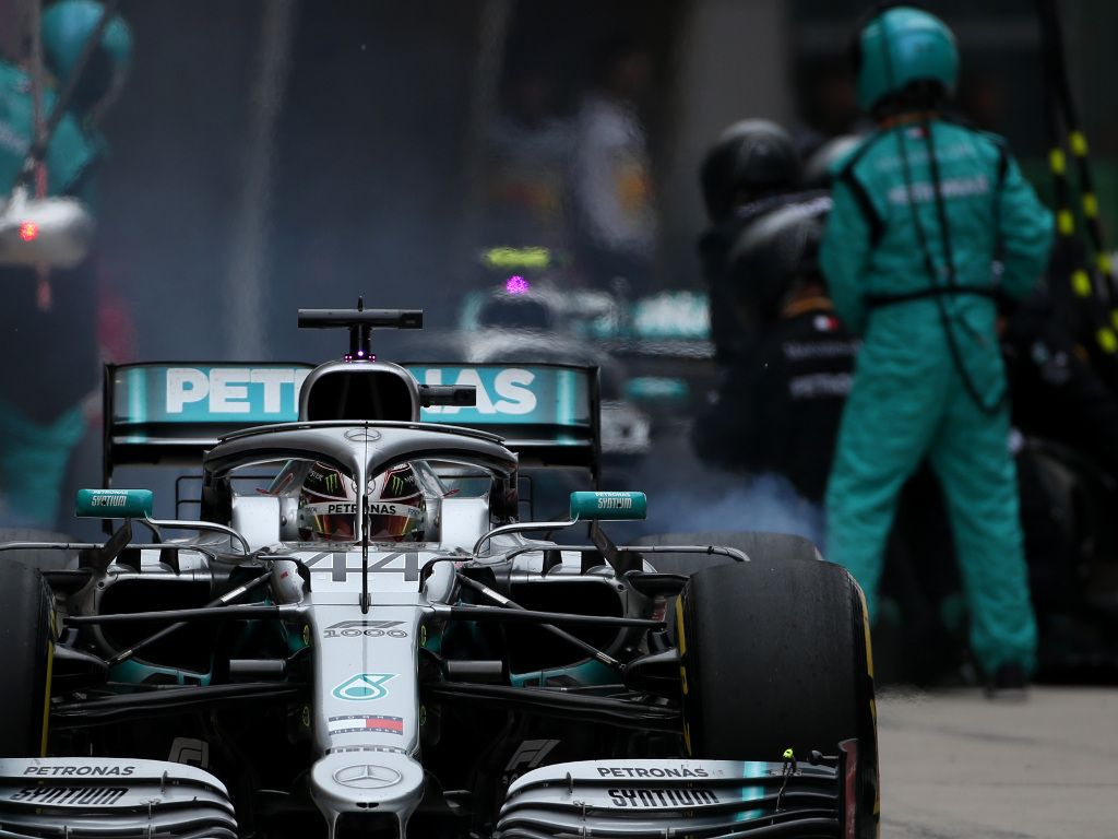 Valtteri Bottas feared double stop would cost him P2