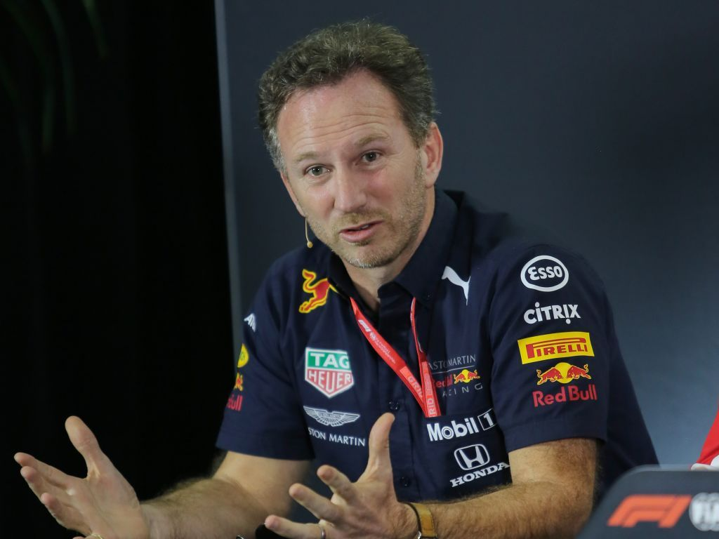 Christian Horner denies his comments on the smell of Ferrari's fuel was a suggestion of them cheating.