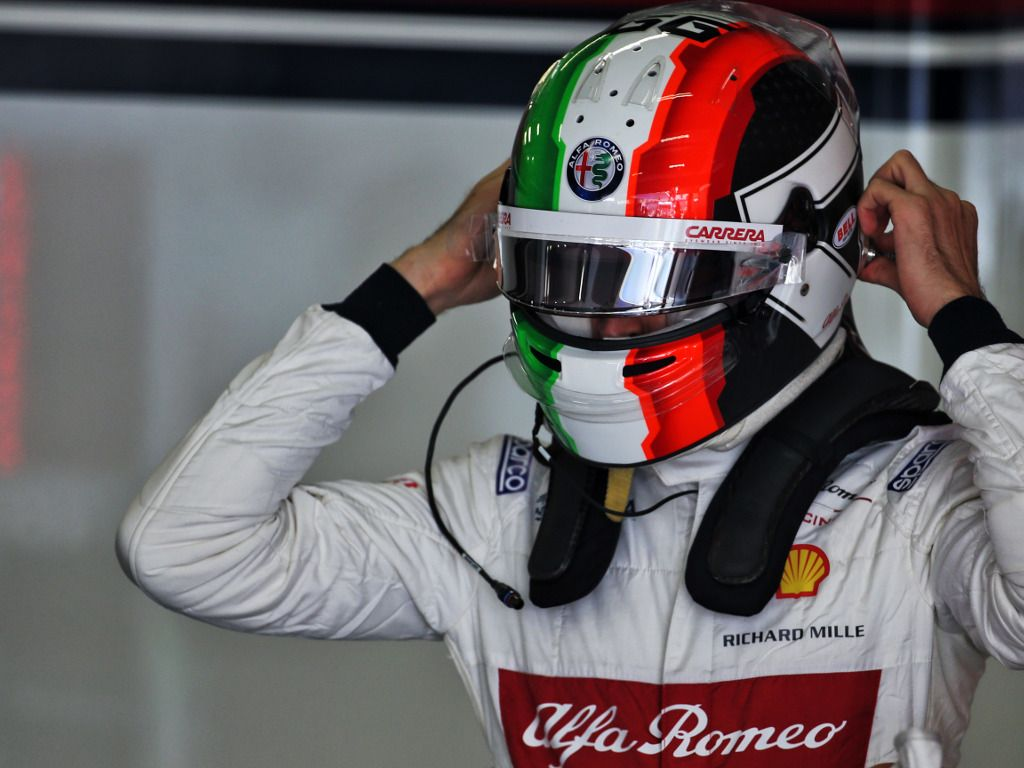 Antonio Giovinazzi believes the deficit to team-mate Kimi Raikkonen is normal.
