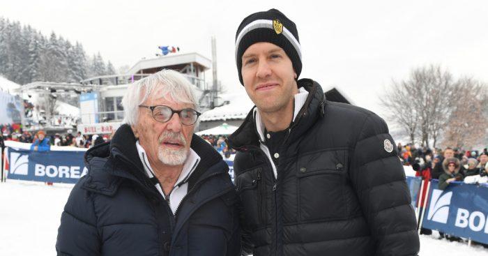 Sebastian Vettel won't hang around for as many years as Bernie