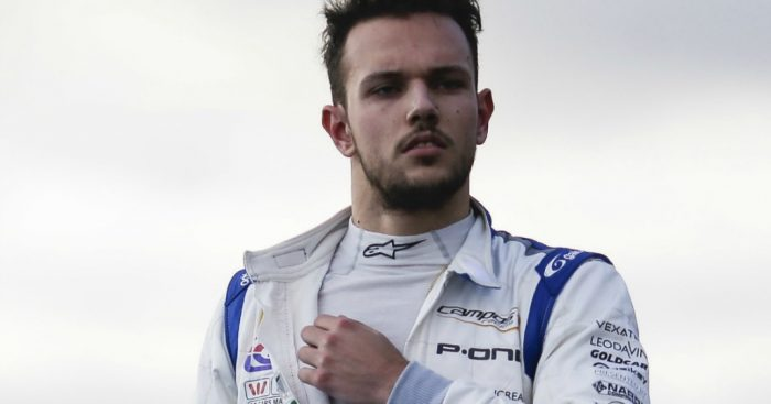 Luca Ghiotto: Formula 1 hope