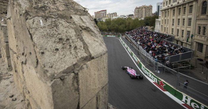 The Baku City Circuit, Azerbaijan.