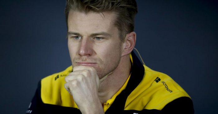 """Nico Hulkenberg said he was not at """"harmony"""" with his Renault car after his Q1 elimination in Baku."""