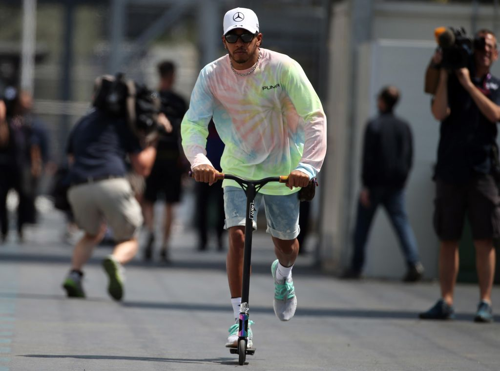 """Lewis Hamilton """"healthier and happier than ever before"""" on vegan diet."""