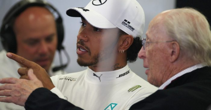 "Lewis Hamilton is ""grateful"" to be starting the Azerbaijan GP in P2 after a poor final lap in Q3."